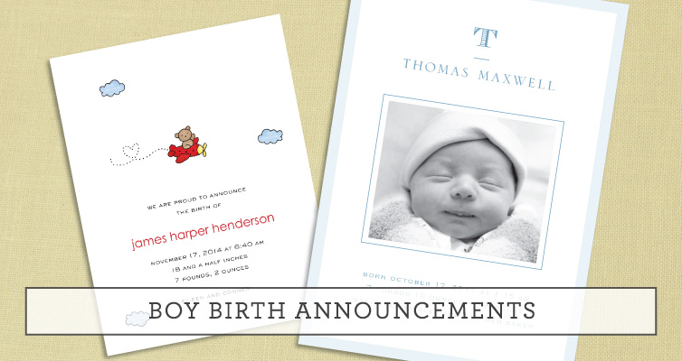 Birth Announcements PrintsWell – Birth Announcements