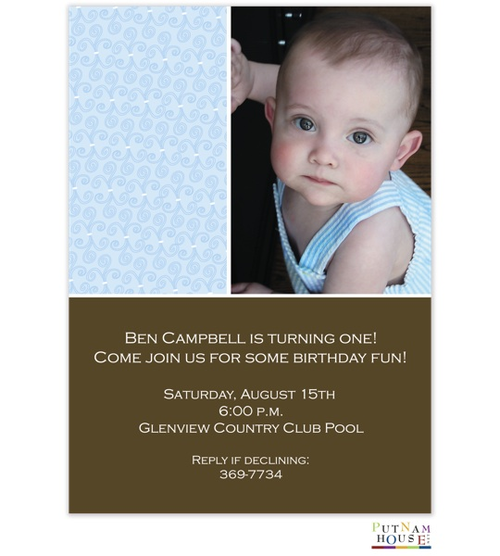 First Birthday Party invitations NEW selections Summer 2018