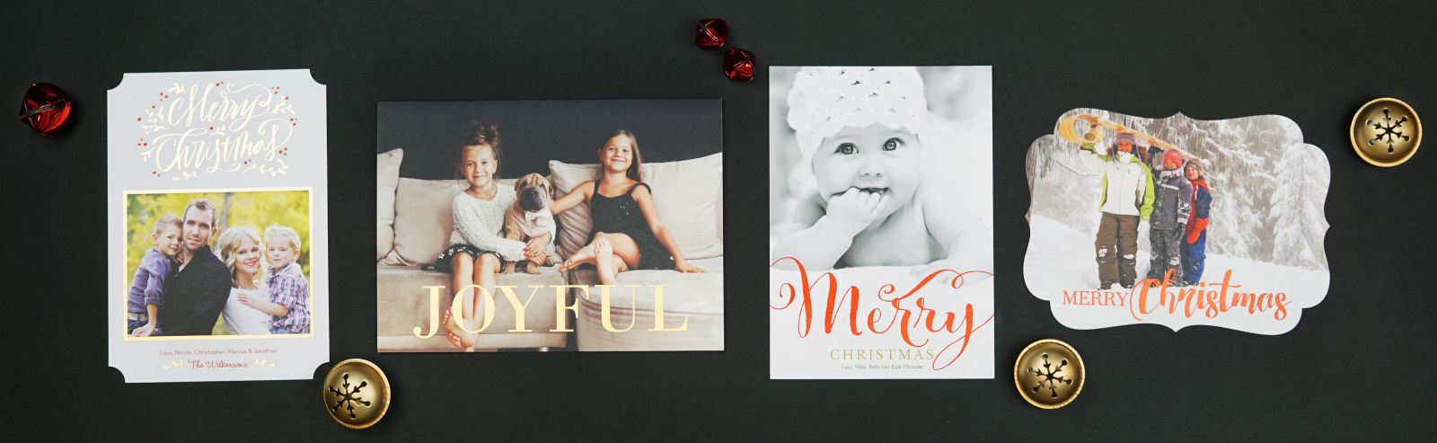 Foil Pressed Christmas Cards - PrintsWell